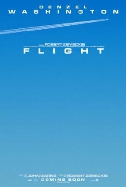 The teaser poster for Robert Zemeckis' movie Flight.