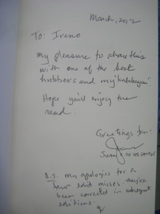 Personal letter of the author to travel_man1971