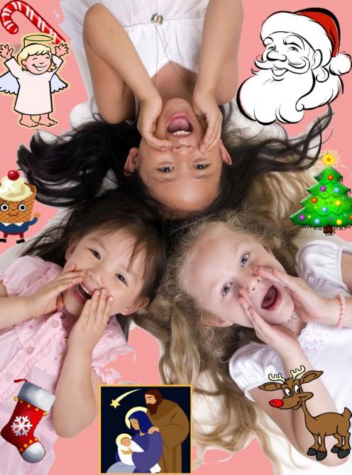 We love Christmas too!  Ho Ho Ho