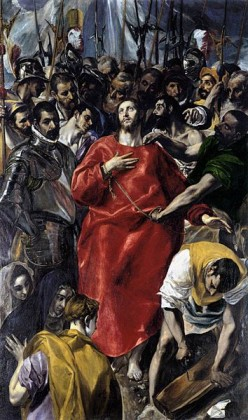 The Disrobing of Christ by El Greco.