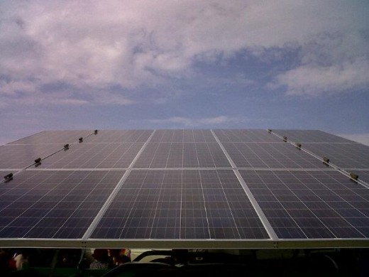Our solar array!