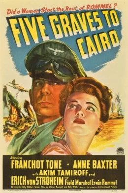 Five Graves to Cairo (1943)