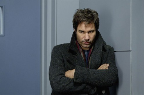 Eric McCormack plays Dr. Daniel Pierce