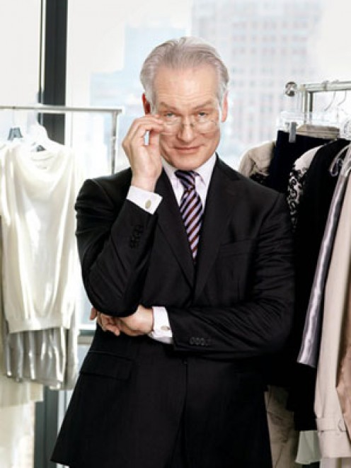 Tim Gunn, a fashion expert who is not in a relationship.