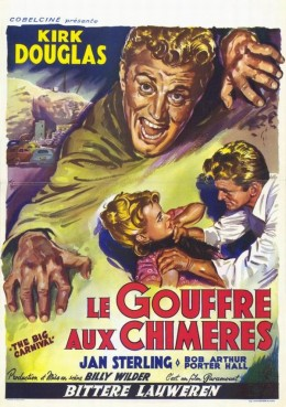 Ace in the Hole (1951) French poster