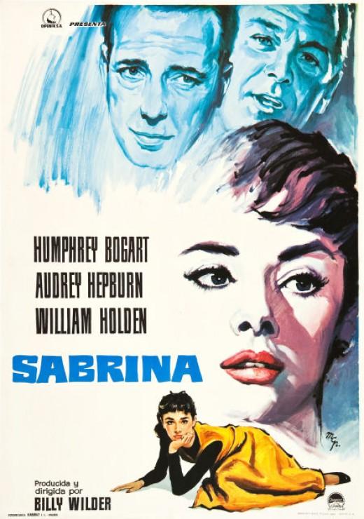 Sabrina (1954) Spanish poster
