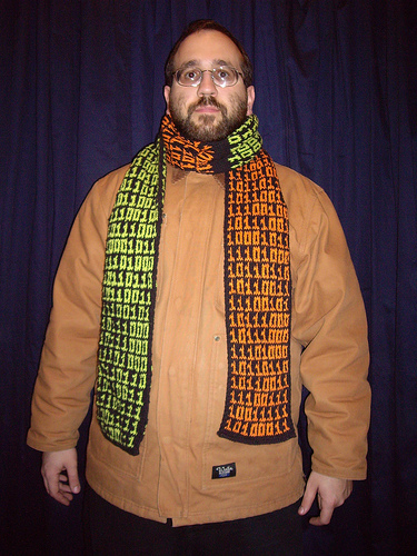 Don't wear a scarf this way.