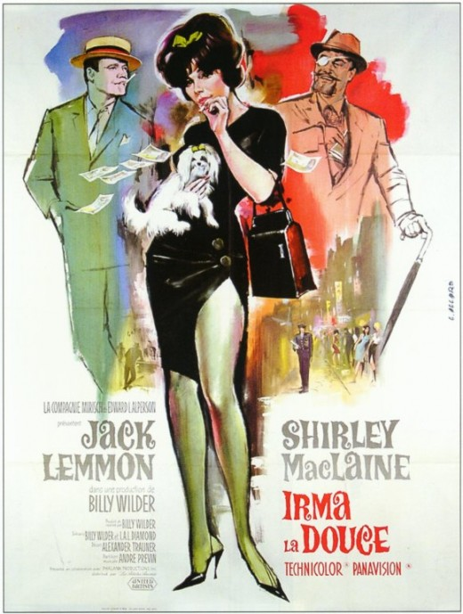 Irma la Douce (1963) French poster