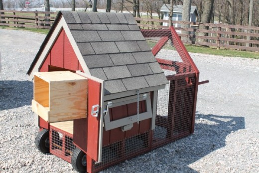 Small portable Free Range Chicken Coop