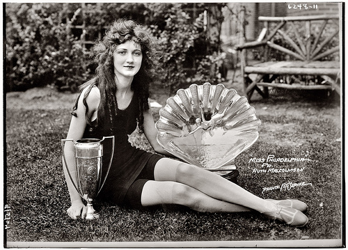 Eighteen-year-old Ruth Malcomson, Miss Philadelphia of 1924. Later that year in Atlantic City, she would be crowned Miss America.