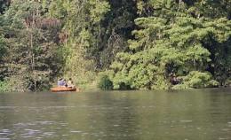 Kali river valley