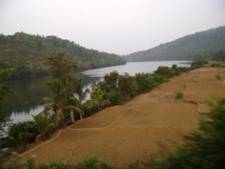 Aghanashini river valley