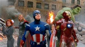 Marvel and Disney's The Avengers movie scene! Copyright Disney and Marvel Studios.