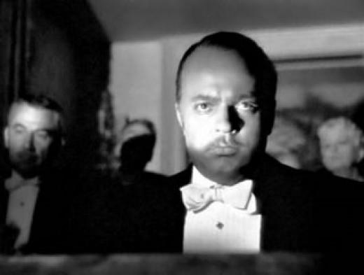 Welles as Kane