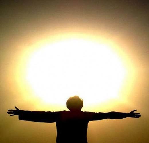 The Sun person