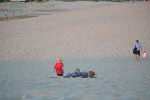 Try rolling down the dunes at Jockey's Ridge State Park!