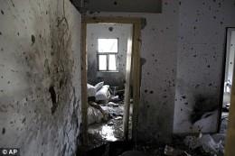 Moshe's deserted, terrorized house