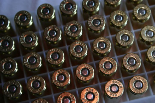 Recent purchases of 450 million rounds of .40 caliber hollow point ammunition by DHS, along with 175 million rounds of .223 rounds is enough to shoot every American twice!