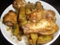 Stir Fried Potato Recipe. How to Cook Stir Fry Potatoes  and Chicken Wings in a Wok