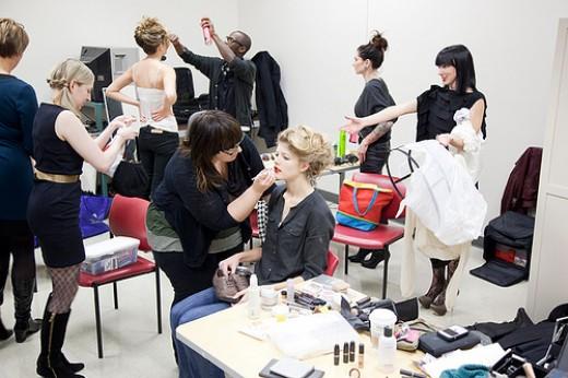 A Busy Fashion Crew