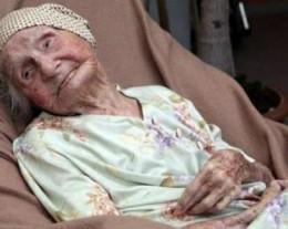 A woman at 114