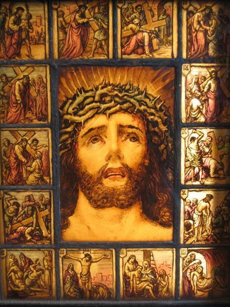 Hundreds of prophecies about Jesus's life and crucifiction were foretold. The odds of these being accurate point to their divine origin.