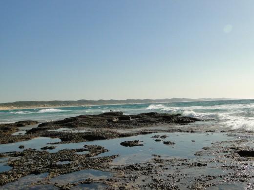 Spring low tide-Sodwana Bay