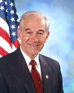 Dr. Ron Paul, 12-term congressman from Texas, GOP presidential candidate, medical doctor and former flight surgeon with the US Air Force.