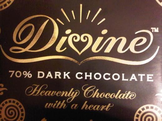 Dark chocolate at least 70% cocoa