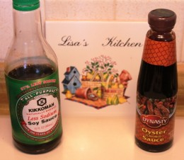 Low Sodium Soy Sauce & Oyster Sauce