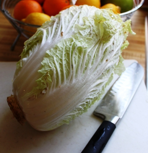 1 Head of Chinese Cabbage