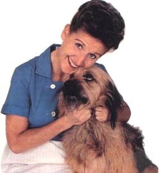 Tiger with Ann B. Davis