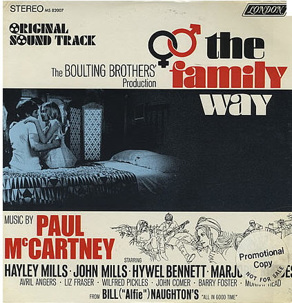 Paul's big band film score for the Haley Mills movie, The Family Way