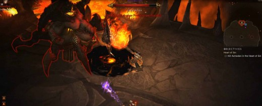 Diablo 3 Use Wizard Skills and Tactics to Defeat Azmodan the Lord of Sin