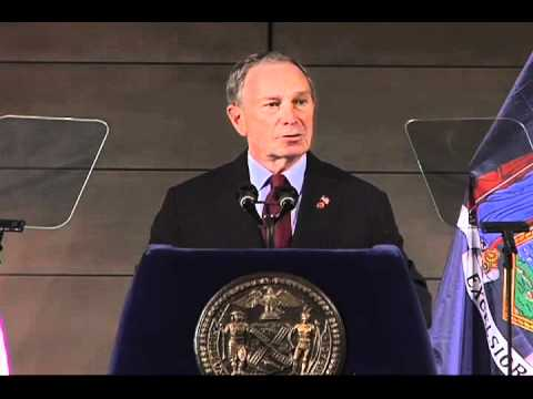 Mayor of New York, Michael Bloomberg.  With a net worth of 22 billion dollars, he stands as America's 11th richest person