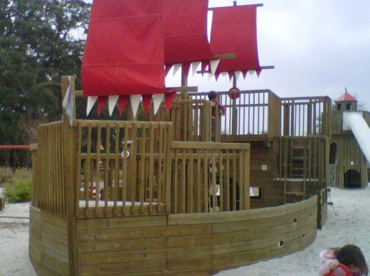 Put your eye patch on, walk the plank, and search for the buried treasure with the kids!