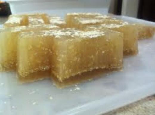 my honey & oatmeal soap