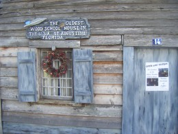 The Oldest Wooden Schoolhouse.  It is claimed to be the first schoolhouse built in the USA. Its official construction date is unknown, but it appears on tax records from 1716.  Inside is a museum showing how schoolchildren used to live.