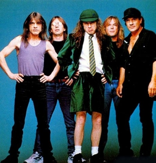 AC/DC 1973 onwards