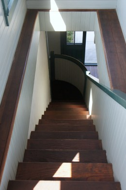 Sewing Room Stairs