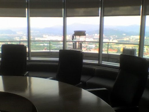 60th floor, petronas towers