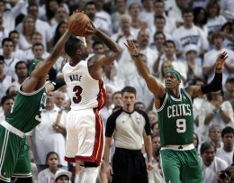 Game 7 Action: NBA 2012 ECF
