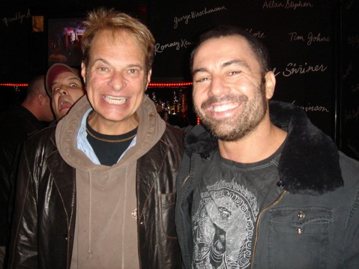 "DAVID LEE ROTH (LEFT) AND JOE GRODEN, ""FEAR FACTOR."""