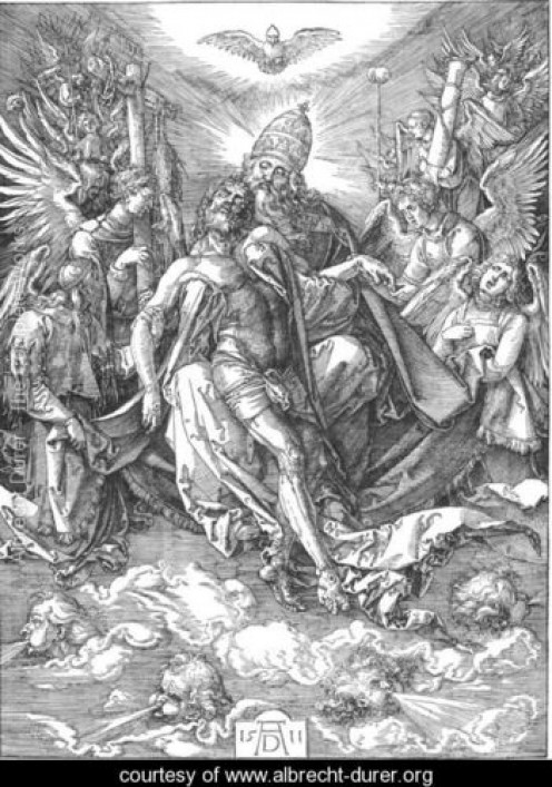 The Holy Trinity, Albrecht Durer (1471-1528)