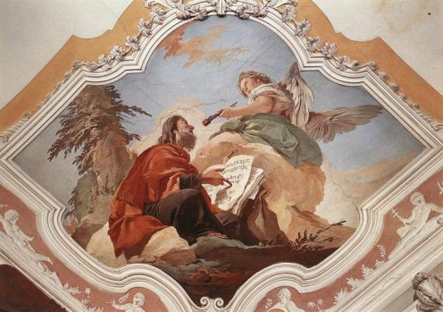 The Calling of Isaiah, Giovan Battista Tiepolo (1696-1770)