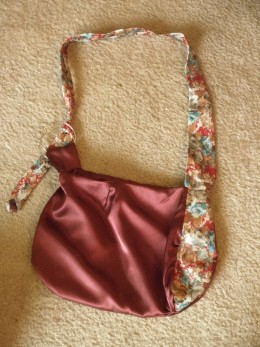 Completed purse.
