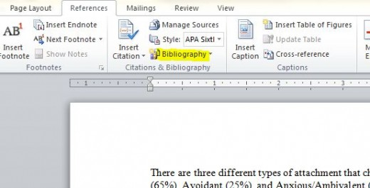 Creating the Bibliography or Works Cited Pages is a snap!