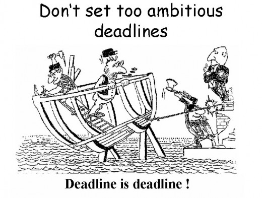 Deadline is Deadline