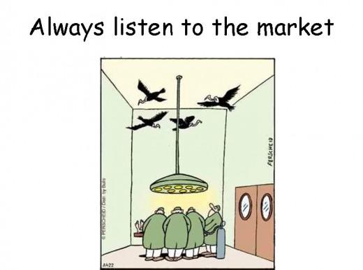 Listen to the market