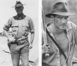Will the real Indiana Jones please stand up?